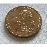 1 гривна 2012 Евро2012 из ролла