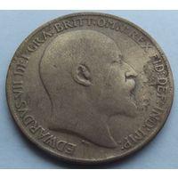 Британия. 1 пенни 1908