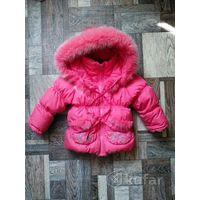 Зимняя фирменная куртка Кико р.92-98