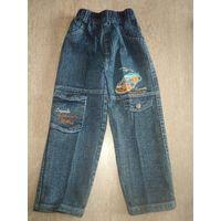 Новые джинсы для мальчика на рост 104-110