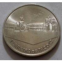 2,5 евро, Португалия 2010 г., Торговая (Дворцовая) площадь в Лиссабоне, AU