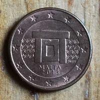 Мальта, 1 евроцент 2013