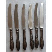 Ножи столовые, коллекция Пламя. Кольчугино, СССР