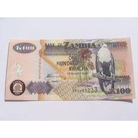 Замбия. 100 квача 2006 год UNC