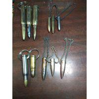 Сувенирные брелоки из находок ВОВ. Подробнее в описании