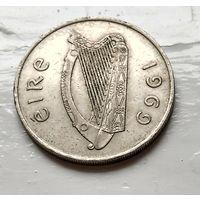 Ирландия 10 пенсов, 1969  2-3-18