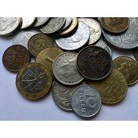 Сборный лот #1.1 - 50 монет, все разные, без СССР и СНГ
