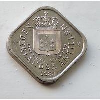 Нидерландские Антильские острова 5 центов, 1984 1-2-6