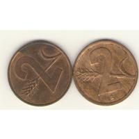 2 раппена 1952 (знак В), 1974 (без знака) г.