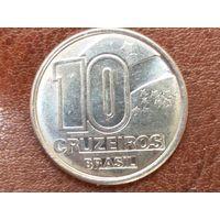 10 крузейро 1991 Бразилия