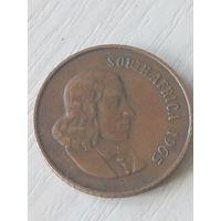 Южная Африка 2 цента 1965г.