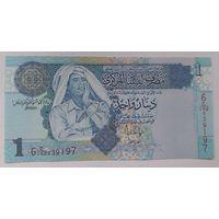 Ливия 1 динар 2004 года UNC