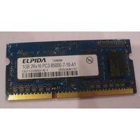 Оперативная память 1gb DDR3-8500 Elpida