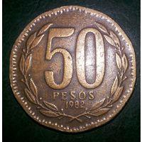Чили 50 песо 1982