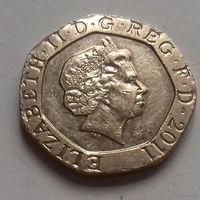 20 пенсов, Великобритания 2011 г.