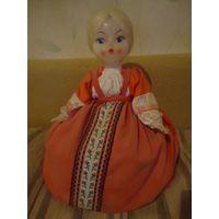 Кукла на самовар времен СССР