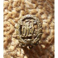 Спортивный знак фрачник в бронзе ДРЛ Вермахт.Германия, клеймо (оригинал).Аукцион с 1.00 руб.