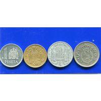 Испания 4 монеты