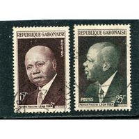 Габон. Леон Мба, политик и президент