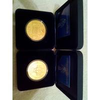 1025-летие Крещения Руси , серебро , 20 рублей . 2013 год.  Серебряная, проба серебра: 925, проба золота: 995 .