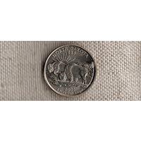США 25 центов 2006/квотер/Северная Дакота(Ah)