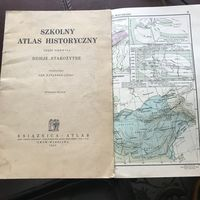Skolny atlas historyczny1932r.