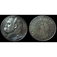 5 злотых 1934 легионер, превосходное коллекционное состояние!!!