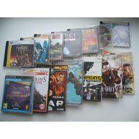 Диски 13шт +1шт. с играми. DVD,PC DVD, CD, PS3 (Цена за все.)