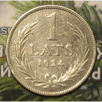 1 лат 1924 Латвия