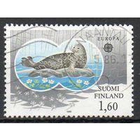 Фауна Тюлени Финляндия 1986 год серия из 1 марки