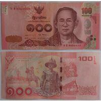 Таиланд. 100 бат (образца 2015 года, P120, подпись 3)