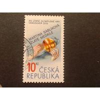 Чехия 2010 золотая олимпийская медаль