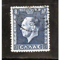 Греция. Ми-392 .Король Георг II. Серия: Греческие короли и королевы.1937.