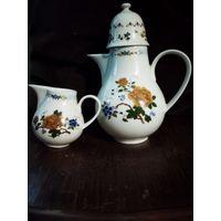 Чайник с молочником 70-е года ХХ века Германия