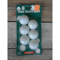 Мячи для тенниса, 6 шт, пр-во Китай