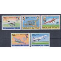 [30] Чад 1978. Авиация.Самолеты.