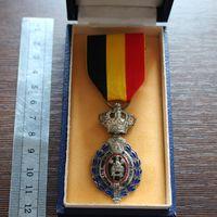 Медаль 2 степени, Бельгия (в родной коробке)