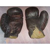 Боксерские перчатки СССР . Конский волос