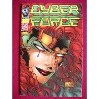 Оригинальный комикс CYBERFORCE (Press Edition) NO 12/1997