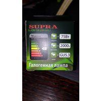 Галогенные лампы supra sl-jcdr-75w-220v-gu5.3