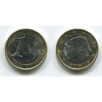 Испания. 1 евро (2017, aUNC)