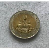 Таиланд 10 бат 2539 (1996) - 50 лет правления Короля Рамы IX