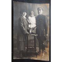 Фото семьи командира, 1927 г.