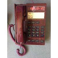 Проводной телефон Фаэтон определитель номера Цвет бордовый Состояние Как новый