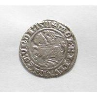 Полугрош Литовский 1511 Сигизмунд l Старый интересный брак монеты