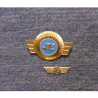 Кокарда и эмблема авиакомпании Кыргызстана