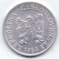 Чехословакия, 1 геллер 1953 года.