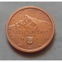 2 евроцента, Словакия 2016 г., AU