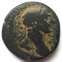 ТРАЯН (98-117 г.) СИРИЯ. ГИЕРОПОЛЬ. АЕ24.