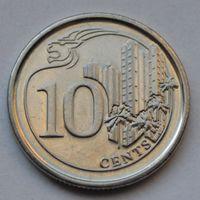 Сингапур, 10 цент 2013 г.